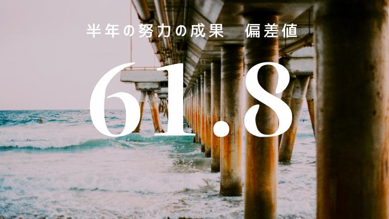 箕面高校(浪人)偏差値49.5→61.8